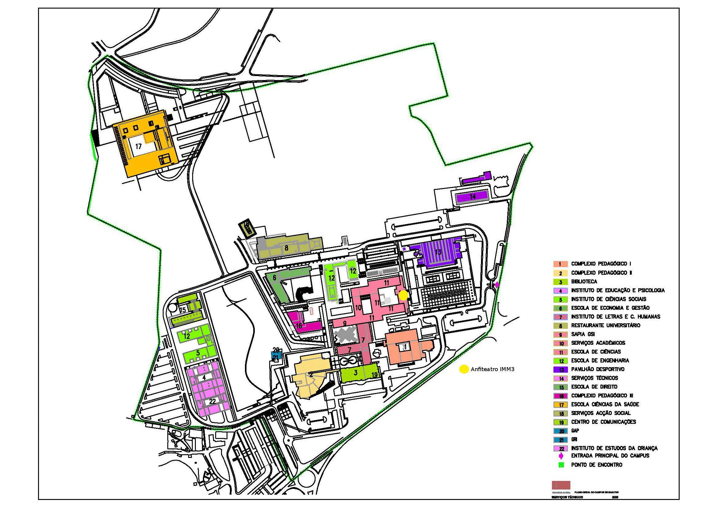 campus de gualtar mapa Location And Travel   VI Black Holes Workshop campus de gualtar mapa